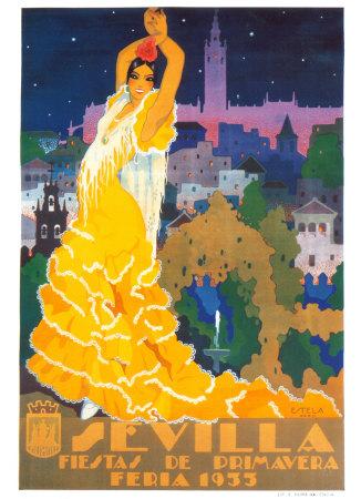 Sevila Feria Prints by Anton Estela