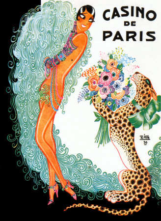 Josephine Baker: Casino De Paris Posters by Zig (Louis ...