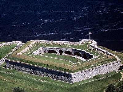 Fort Knox, Bucksport, Maine Photographic Print