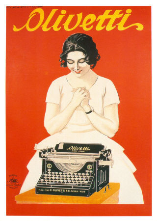 Poster Olivetti