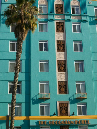 The Georgian Hotel, Santa Monica, Los Angeles, California Photographic Print
