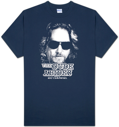 The Big Lebowski - The Dude Abides T-Shirt