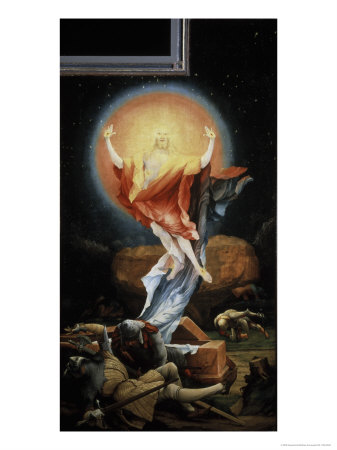 The Isenheim Altarpiece, Resurrection Giclee Print by Matthias Grünewald
