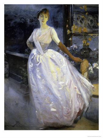 Madame Roger Jourdain Giclee Print by Albert Besnard