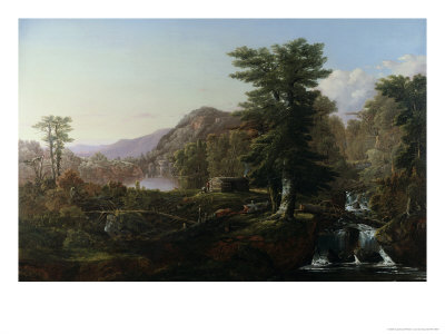Camp in the Wilderness Giclee Print by William Louis Sonntag