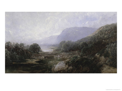 View to the Sea, c.1880 Giclee Print by William Louis Sonntag