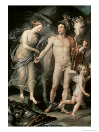 Perseus and Andromeda, c.1777 Giclee Print by Anton Raphael Mengs
