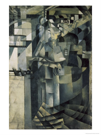 Life in a Big Hotel Giclee Print by Kasimir Malevich