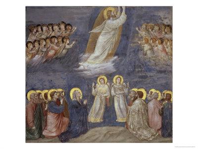 The Ascension Giclee Print by  Giotto di Bondone