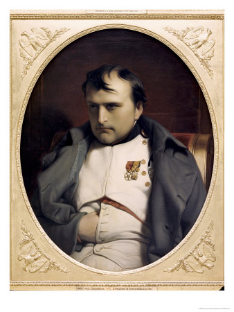 Napoleon in Fountainebleau Giclee Print by Paul Delaroche
