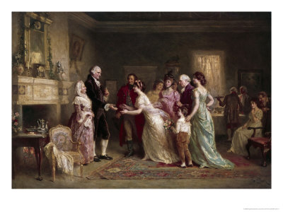 Washington's Birthday Giclee Print by Jean Leon Gerome Ferris