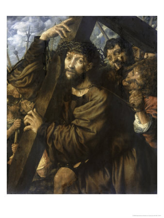 Christ Bearing the Cross Giclee Print by Jan Sanders van Hemessen