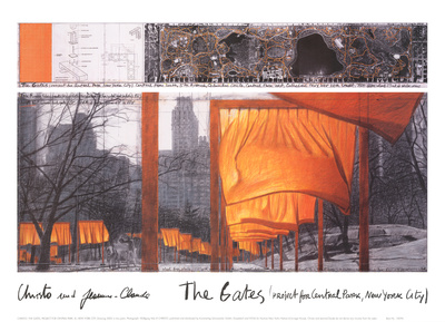 The Gates IX Posters by  Christo