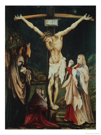 The Small Crucifix Giclee Print by Matthias Grünewald