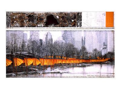 The Gates XXVII Prints by  Christo