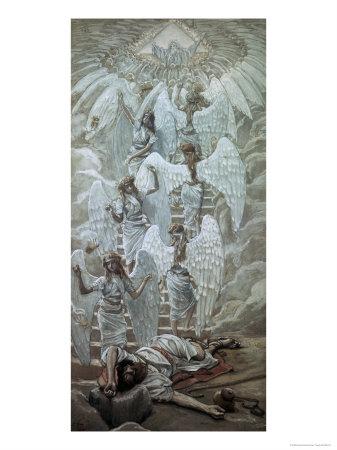 Jacob's Dream Giclee Print by James Tissot