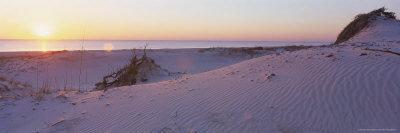 Sunset on Beach at Amelia Island, FL Photographic Print by Kent Dufault