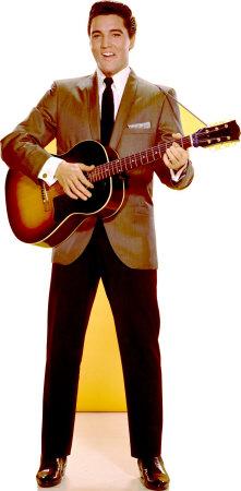 Elvis Sportscoat Guitar Lifesize Standup Poutače se stojící postavou