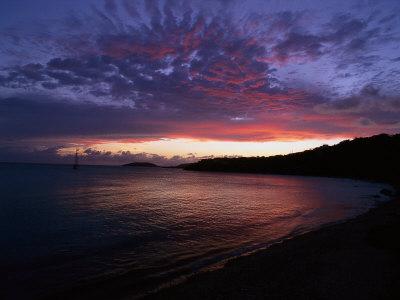Bay at Sunset, Culebra, Puerto Rico Photographic Print by Dan Gair