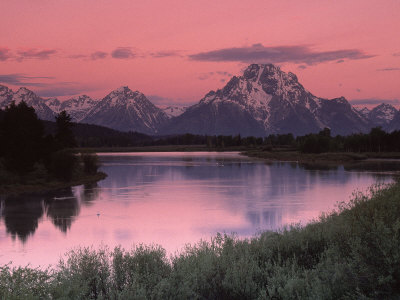 Dawn, Oxbow Bend, Grand Tetons, WY Photographic Print by Gail Dohrmann