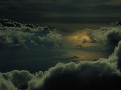Clouds and Sunrise Photographic Print by Bruce Clarke