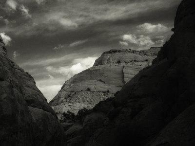 Chimney Rock Canyon, Capitol Reef National Park, Utah Photographic Print by David Wasserman