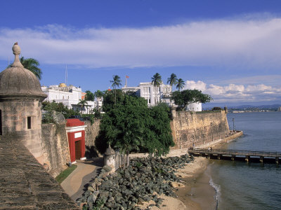 La Fortaleza, Old San Juan, Puerto Rico Photographic Print