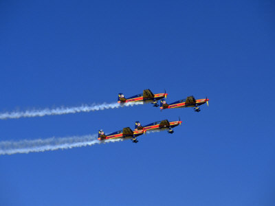 Extra 300 Aircraft at Airshow, Oshkosh, WI Photographic Print by Ernest Manewal
