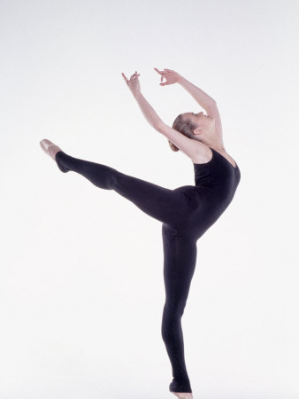 Ballerina Dancing Photographic Print by Bill Keefrey
