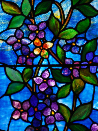 Stained Glass by George Spence, Jonesport, ME Photographic Print by Dan Gair