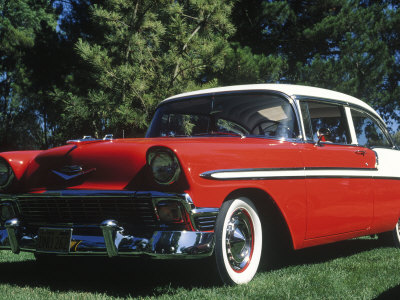 1956 Chevrolet Bel-Air Photographic Print by Gary Conner