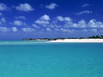 Tropical Scenic, Turks and Caicos Islands Photographic Print
