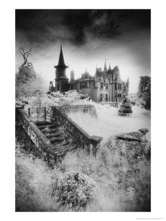 Ecclescrieg House, Kincardineshire, Scotland Giclee Print by Simon Marsden