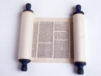 Torah Photographic Print by David Wasserman