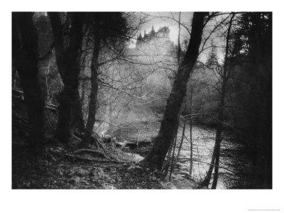 Craig Hall, Perthshire, Scotland Giclée-Druck von Simon Marsden