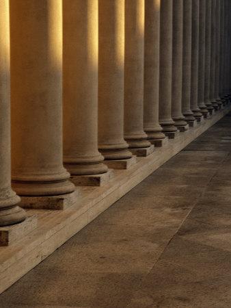 Pillars at Sunset Photographic Print by David Wasserman