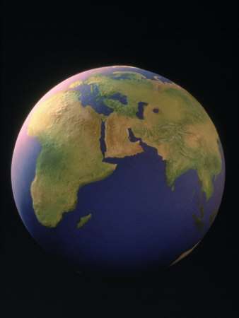 View of the Earth Photographic Print by Matthew Borkoski