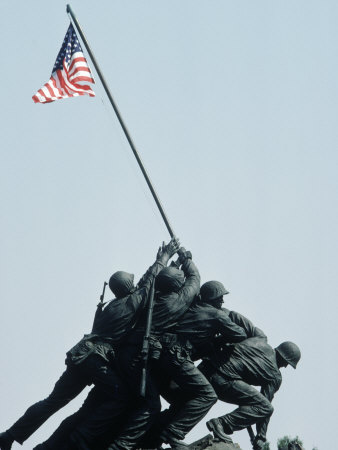 Iwo Jima Statue, Washington DC Photographic Print by Chris Minerva