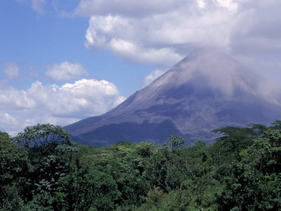 Arenal Volcano, Costa Rica Photographic Print by Bruce Clarke