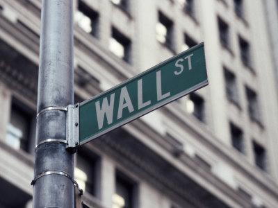 new york city street signs. Wall Street Sign, Financial