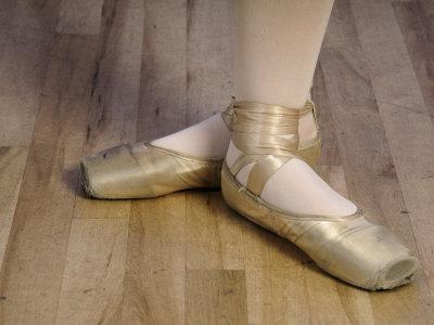 Ballerina's Feet Photographic Print by Dean Berry