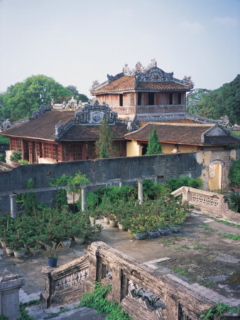 Forbidden City, Hue, Vietnam Photographic Print by Robin Allen