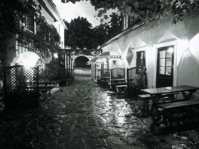 Empty Cafe, Austria Photographic Print by Dan Gair