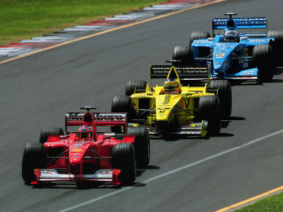 Formula  Auto Racing on Formula 1 Auto Race Photographic Print By Peter Walton   Allposters Co