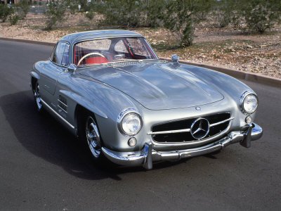 1956 Mercedes-Benz 300 Sl Gullwing Coupe Photographic Print at AllPosters.
