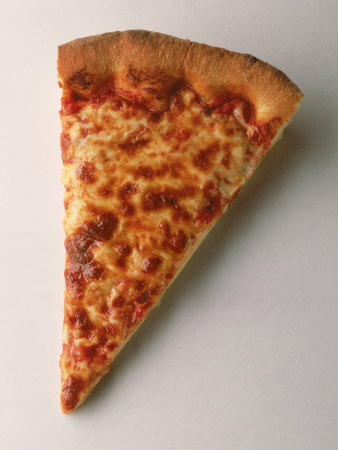 A Slice of Pizza Photographic Print by Peter Johansky at AllPosters.com