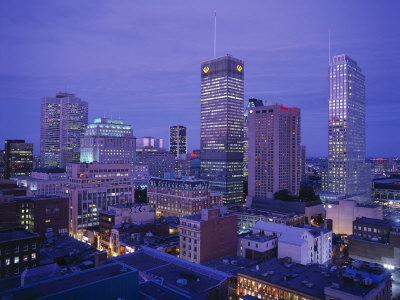 Downtown, Montreal, Quebec, Canada Photographic Print