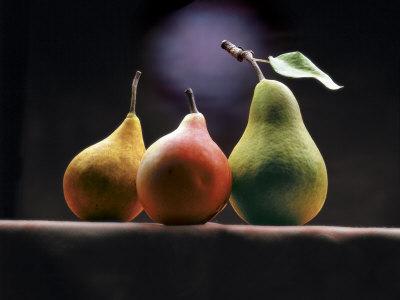Three Pears Photographic Print by  ATU Studios