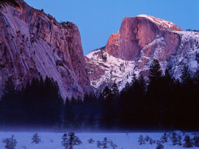 Half Dome from Cooks Meadow, Yosemite National Park Photographic Print by Peter Walton