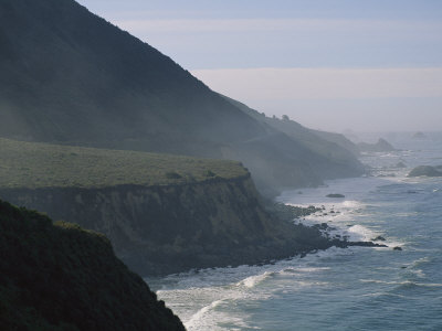 Big Sur Coastline, California Photographic Print by Michael S. Lewis